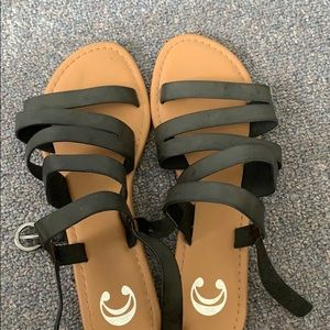 Charming Charlie strappy sandals